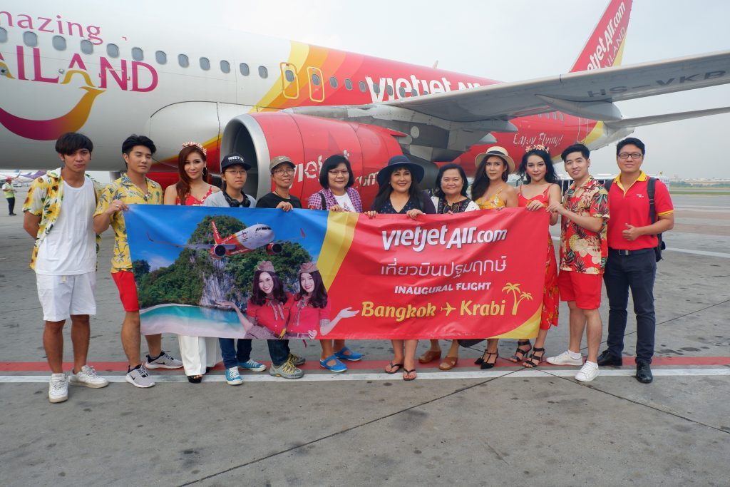 VietJet introduces more flights in Thai skies - BKK to Krabi | News by The Thaiger