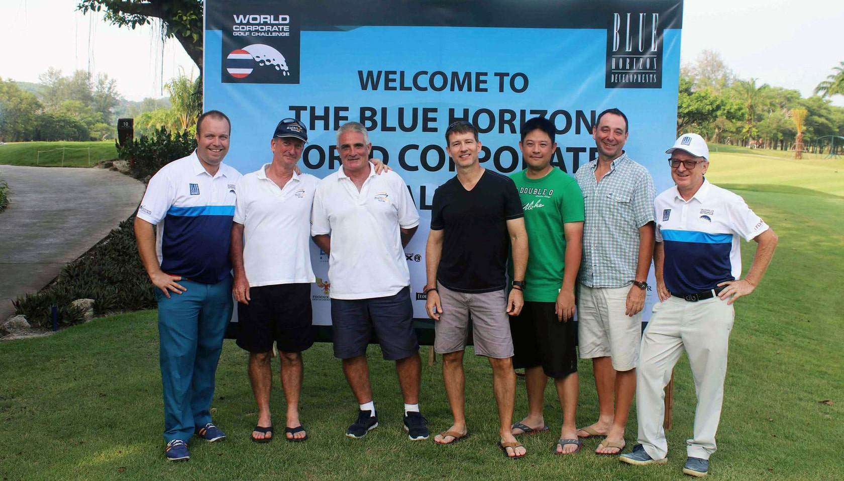 The Blue Horizon World Corporate Golf Challenge 2018 qualifying series in Phuket is now complete | The Thaiger