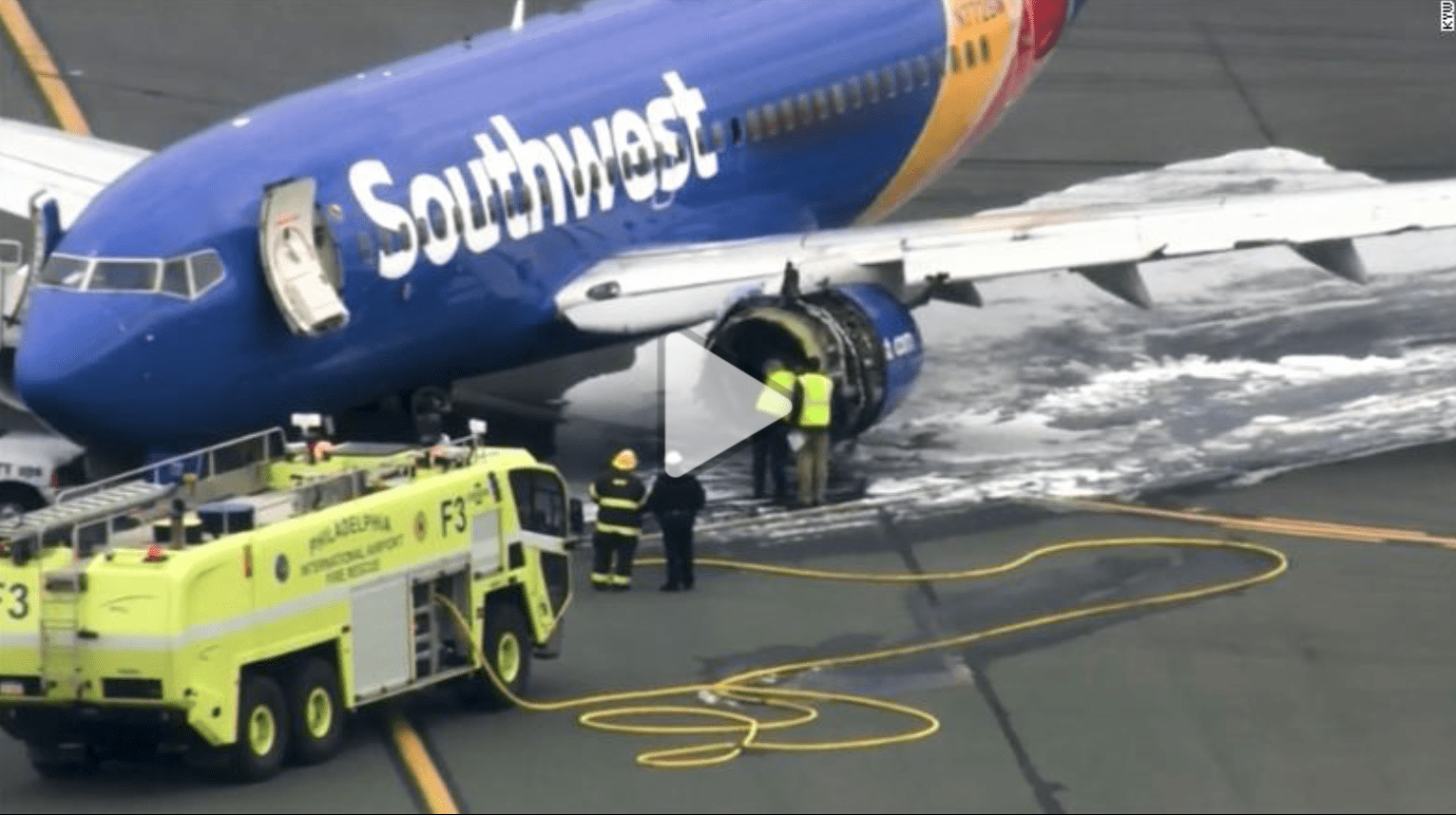 Passenger nearly gets sucked out of broken Southwest Airlines 737 window | The Thaiger