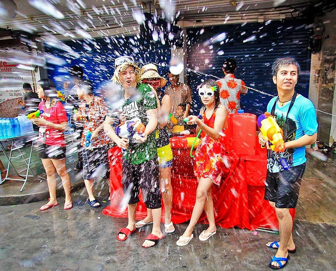 Criminal offences to avoid during Songkran. | The Thaiger