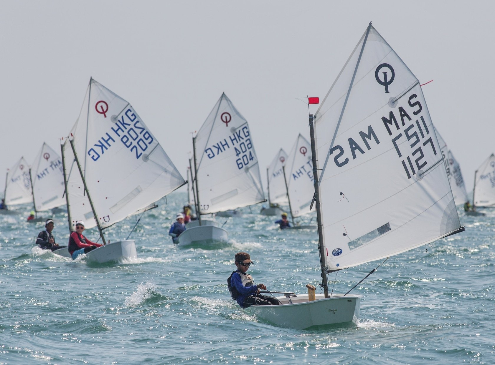 Kids from around Asia head to Pattaya for Thai Optimist National Championships | The Thaiger