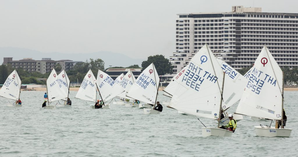 Kids from around Asia head to Pattaya for Thai Optimist National Championships | News by The Thaiger