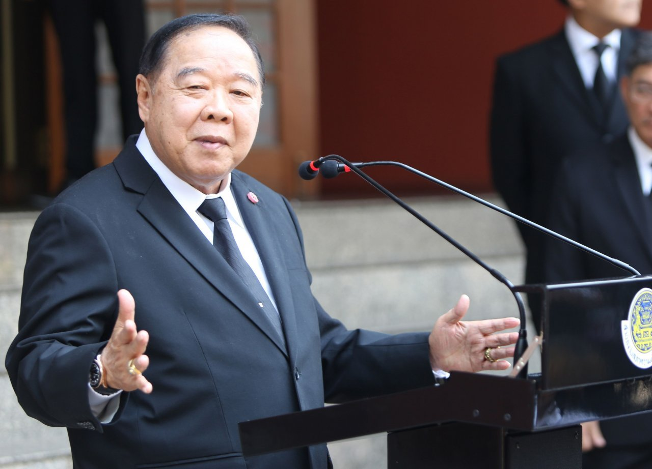 Prawit denies any health problems | The Thaiger