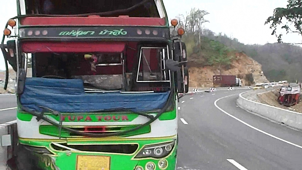 Two fatal accidents in the same spot within 12 hours - Tak   News by Thaiger