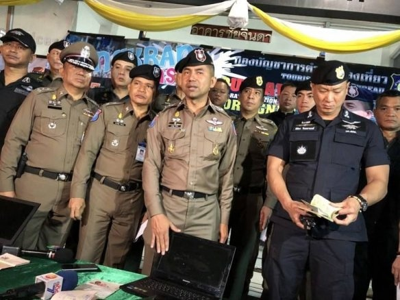 Another 81 foreigners arrested in the latest 'X-Ray Outlaw Foreigner' sting | News by Thaiger