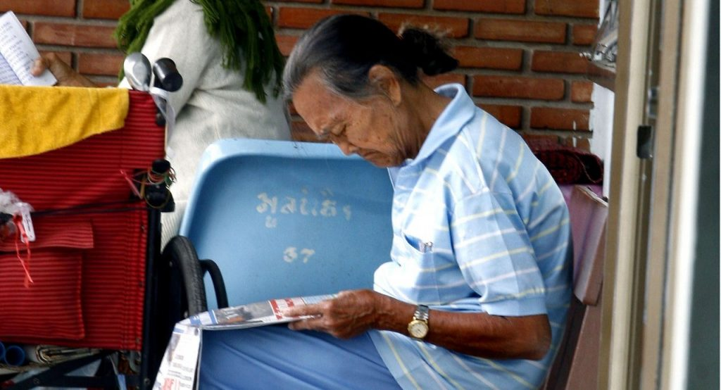 Going grey - The 'Gold' App for Thai seniors   News by Thaiger
