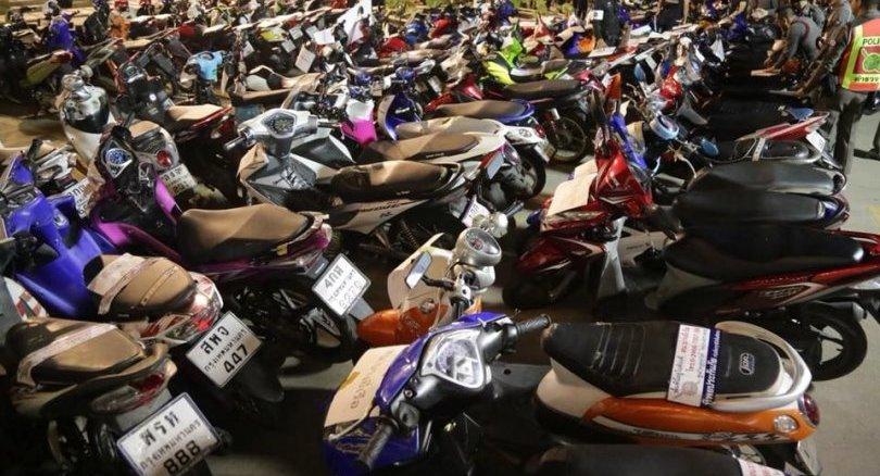 121 arrested over BKK bike mods | News by Thaiger