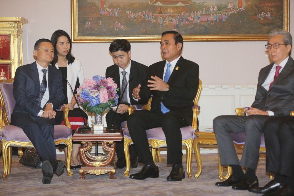 Jack Ma opens the door to Thailand's markets   News by Thaiger