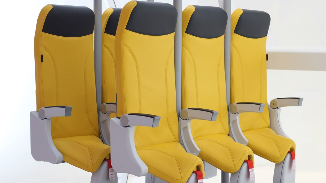 Will you be booking a flight with standing plane seats? | The Thaiger