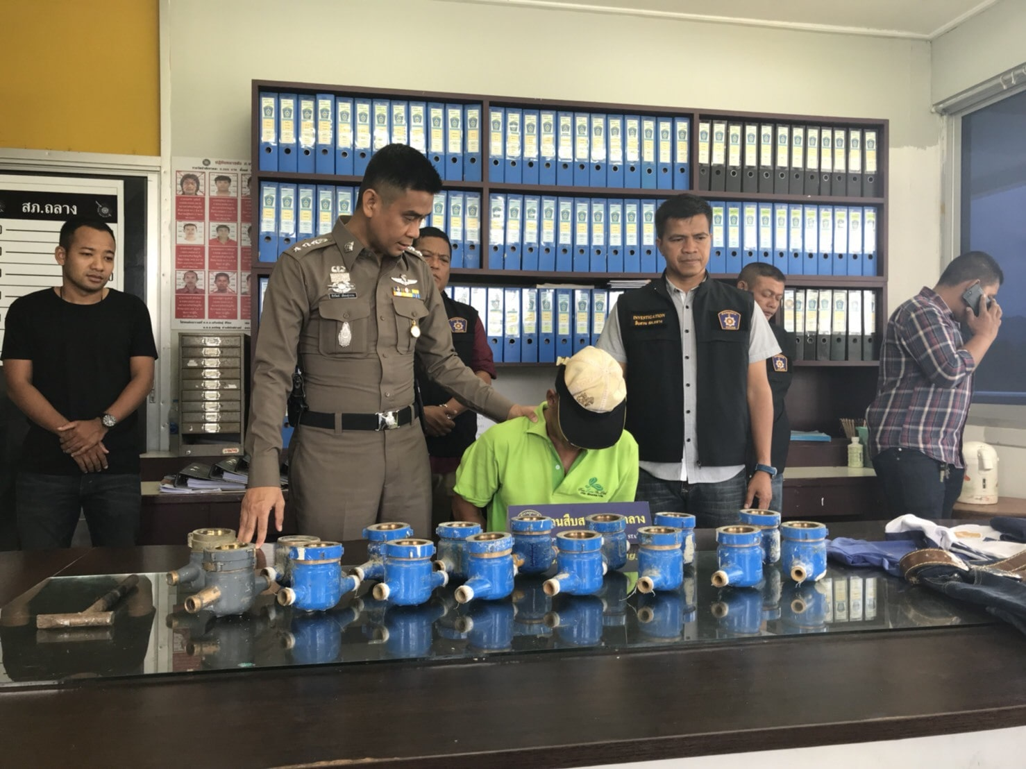 Thalang water meter robber arrested with Kratom | The Thaiger