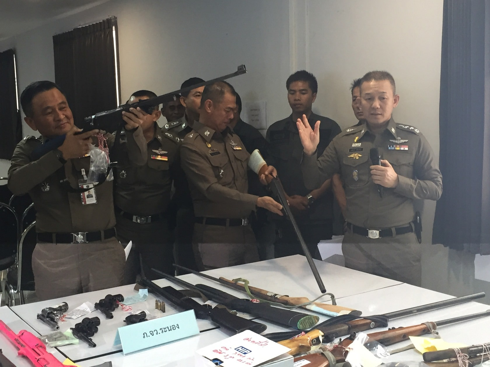Big crime crackdown before Songkran | The Thaiger