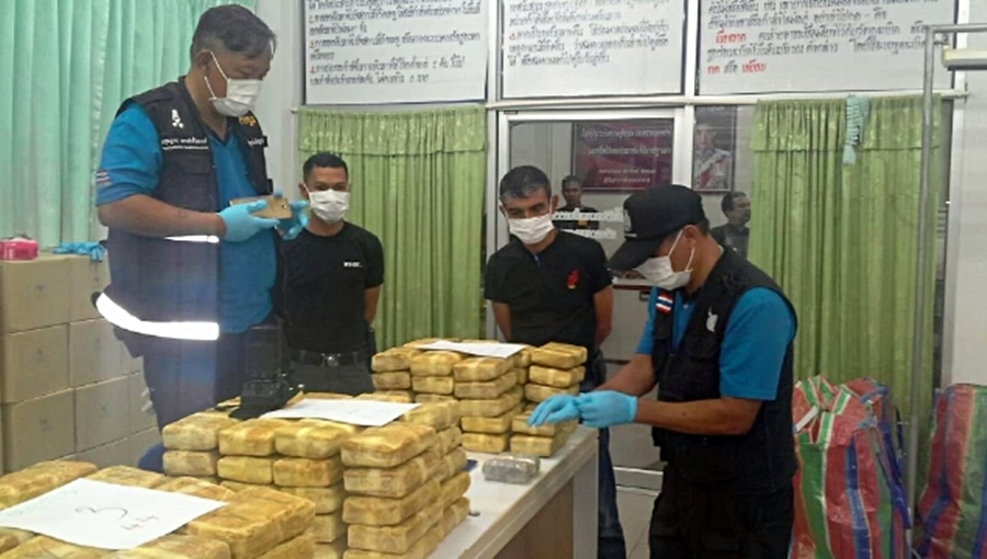 Nearly one million meth tablets seized in police sting in Songkhla | News by Thaiger