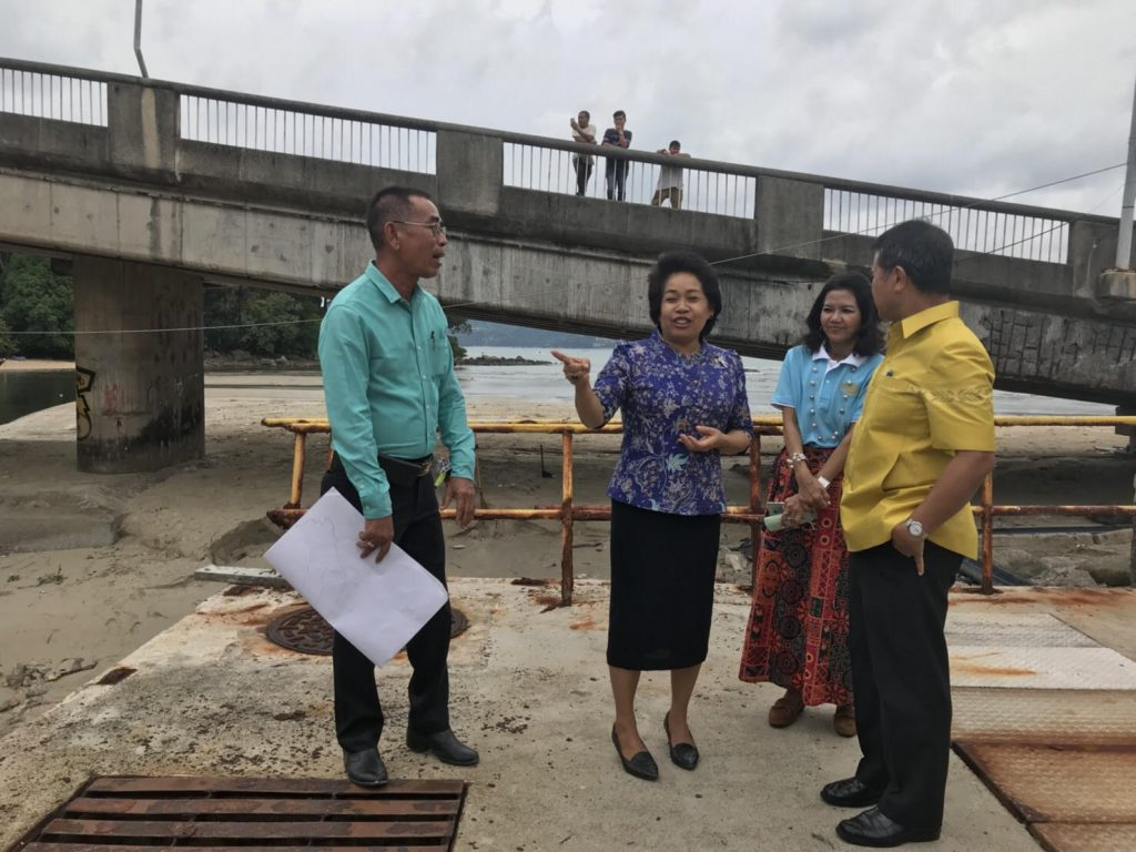 Governor visits Pakbang Canal after wastewater released into Patong bay | News by Thaiger