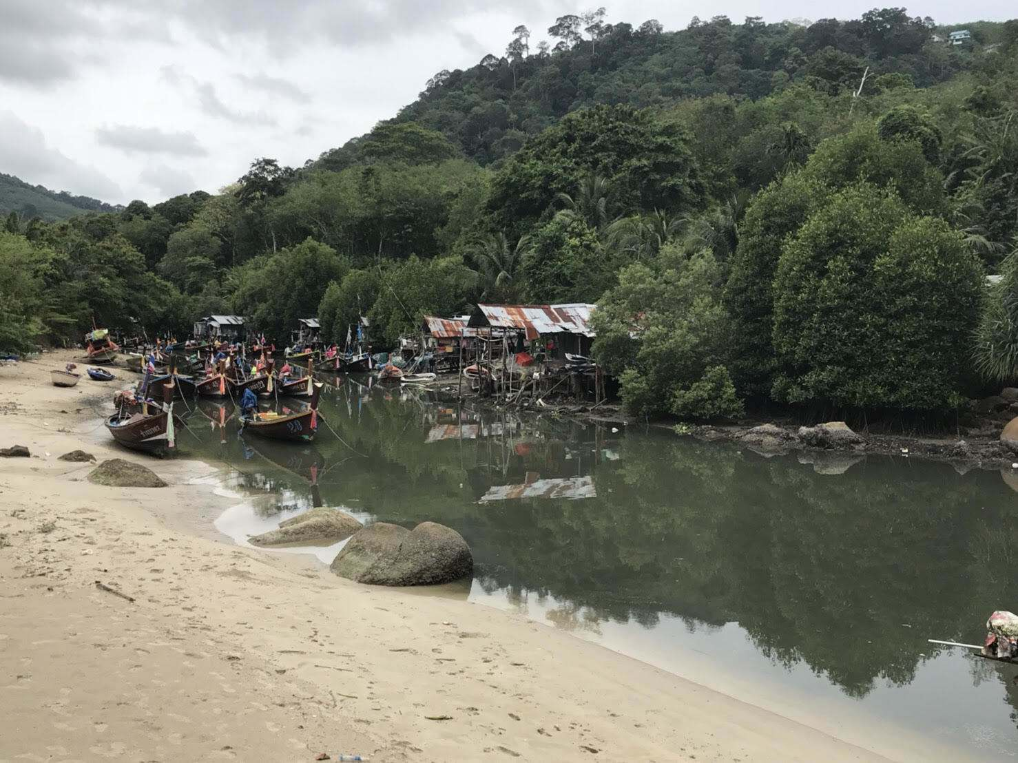 Governor visits Pakbang Canal after wastewater released into Patong bay | The Thaiger