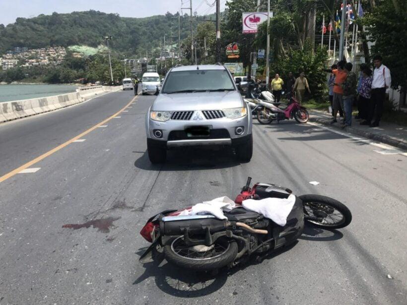 รถตู้เฉี่ยวชนรถจยย.นักท่องเที่ยวในพื้นที่กะหลิม ได้รับบาดเจ็บสาหัสและเสียชีวิตที่โรงพยาบาล   The Thaiger
