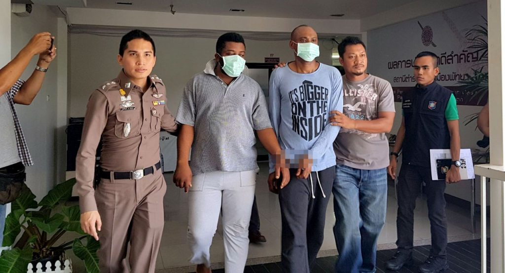Two Nigerians arrested in Pattaya over alleged romance scam   News by Thaiger