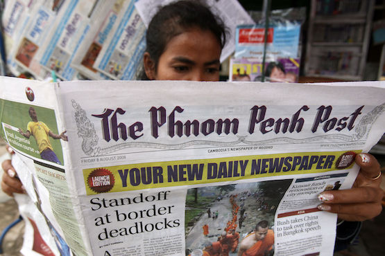 Phnom Penh Post sold to Malaysian media investor | News by The Thaiger