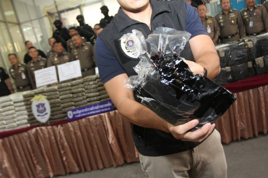 Huge narcotics haul seized from four major drug operations | News by Thaiger