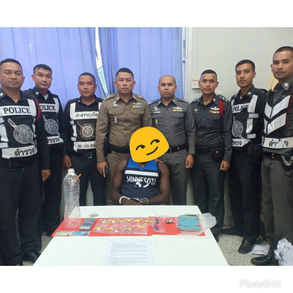 Nigerian man arrested with cocaine in Thalang | News by Thaiger