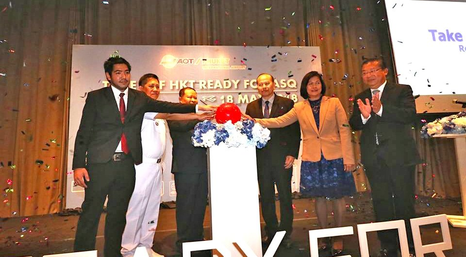 Phuket airport launches 'Take off HKT ready for ASQ' event | The Thaiger