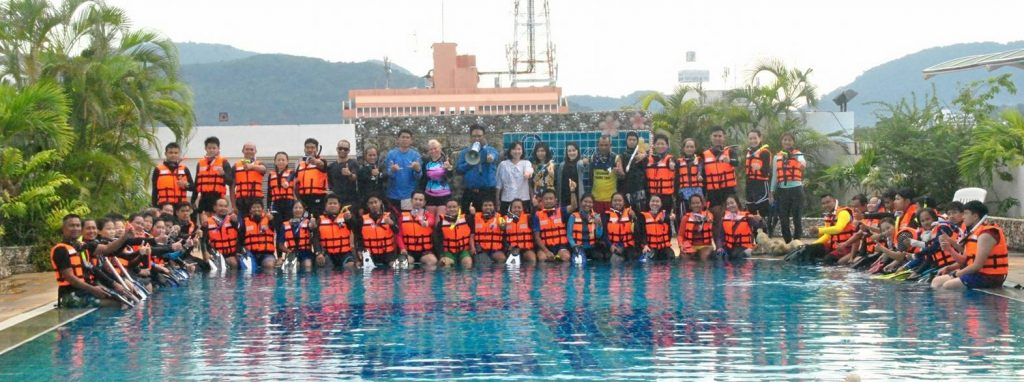 Marine rescue training for tour guides | News by The Thaiger