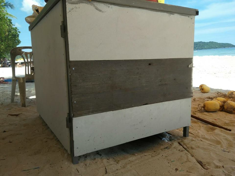 Patong lifeguards call for safe equipment storage | News by The Thaiger