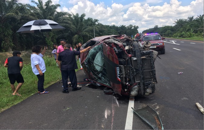 Suspect arrested with over 100,000 meth pills after road accident in Krabi | News by The Thaiger
