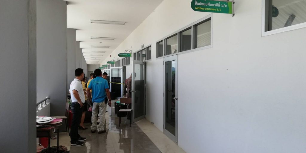 Fire in an unused classroom in Krabi | News by The Thaiger