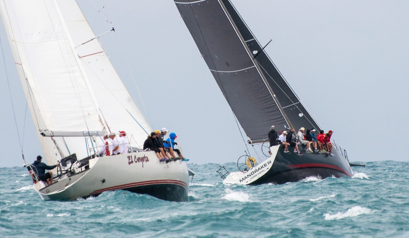 Variable conditions test sailors on Day 2 of 2018 Samui Regatta | The Thaiger