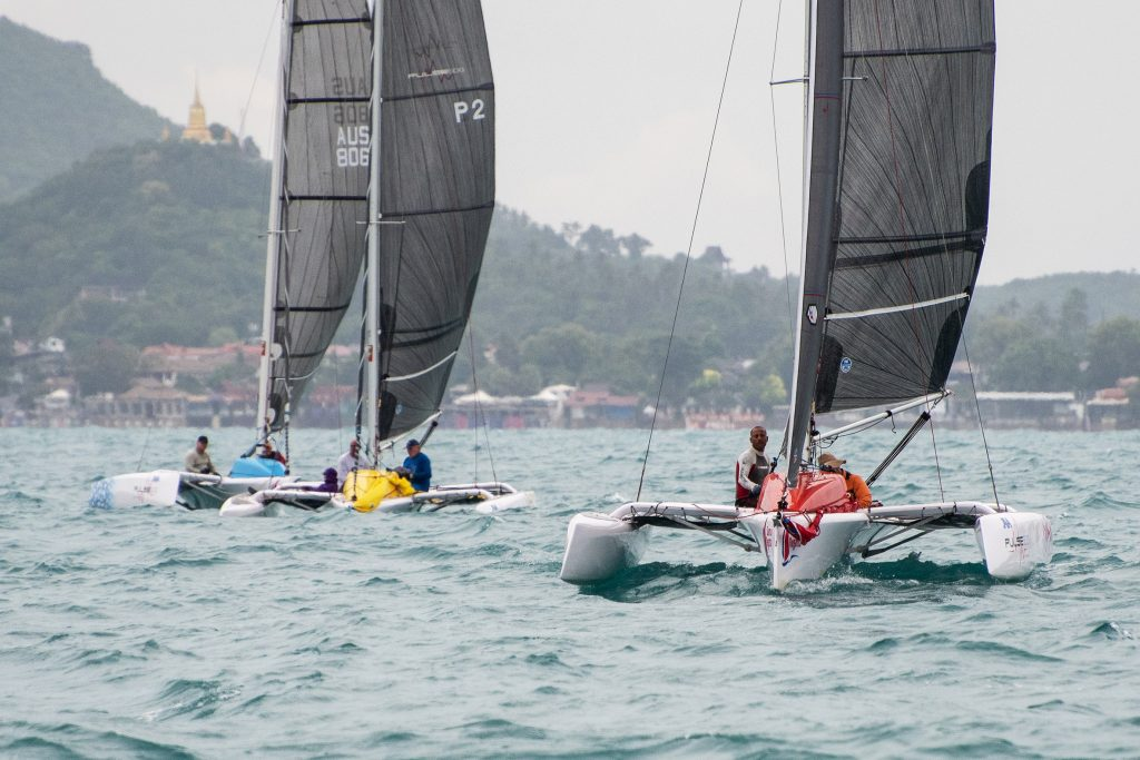Variable conditions test sailors on Day 2 of 2018 Samui Regatta | News by Thaiger