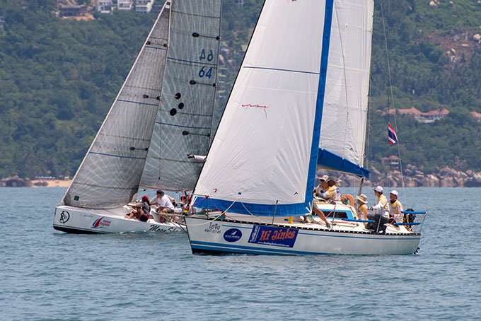 Seconds in it on Day 3 of Samui Regatta | The Thaiger
