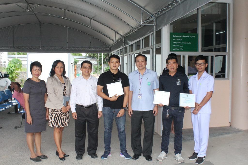 Phuket's private sector donates money to help Chalong Hospital | News by Thaiger