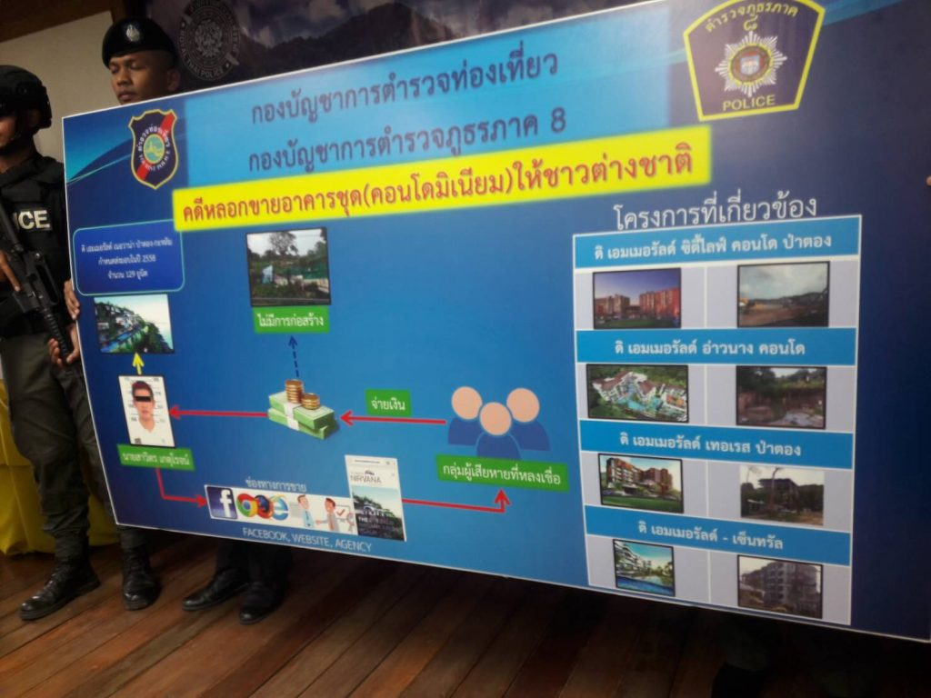 Emerald Condo alleged fraud case - CEO arrested   News by Thaiger