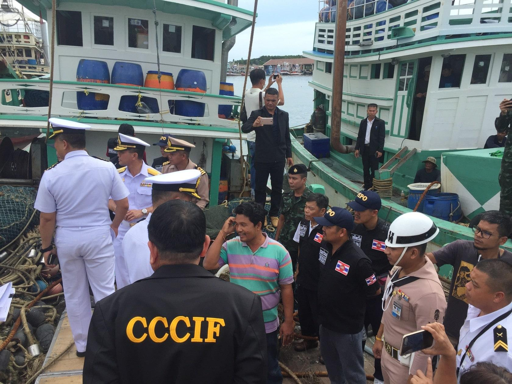 Captains to face more charges in whale shark incident   The Thaiger