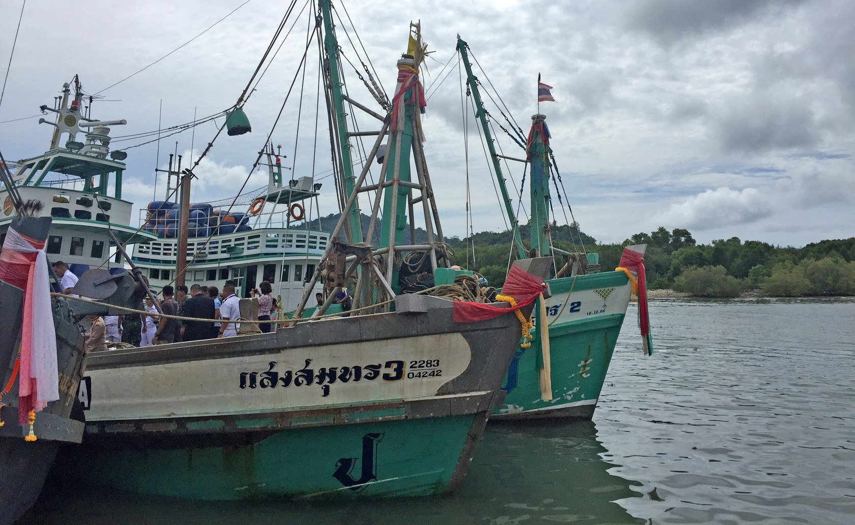'It is not the whale shark's baby' – Fishing boat captain | Thaiger