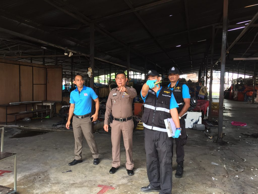 Forensic police investigate Phuket market fire | News by Thaiger