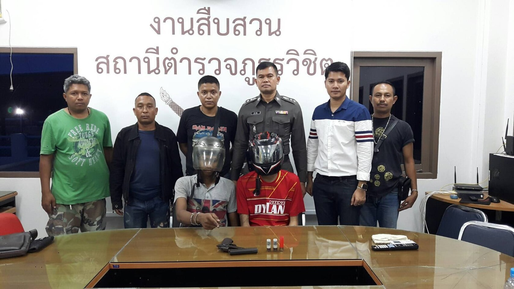 Two arrested over shots in the air – Wichit | The Thaiger