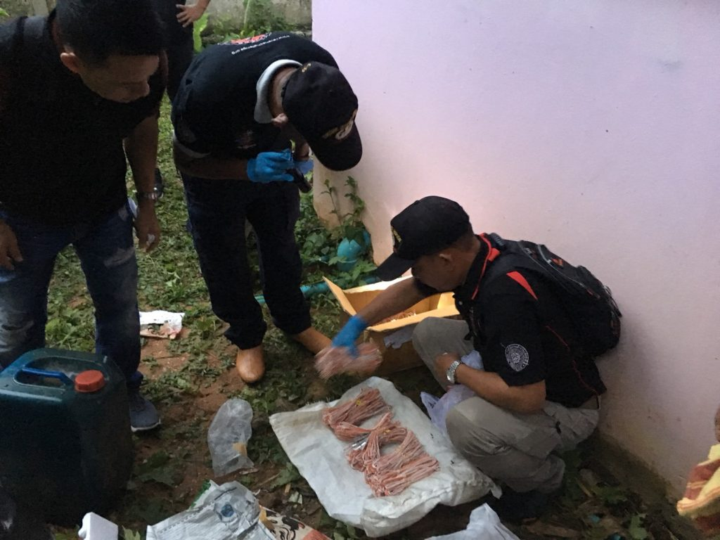 Five people in custody after bomb-making equipment and chemicals discovered   News by Thaiger