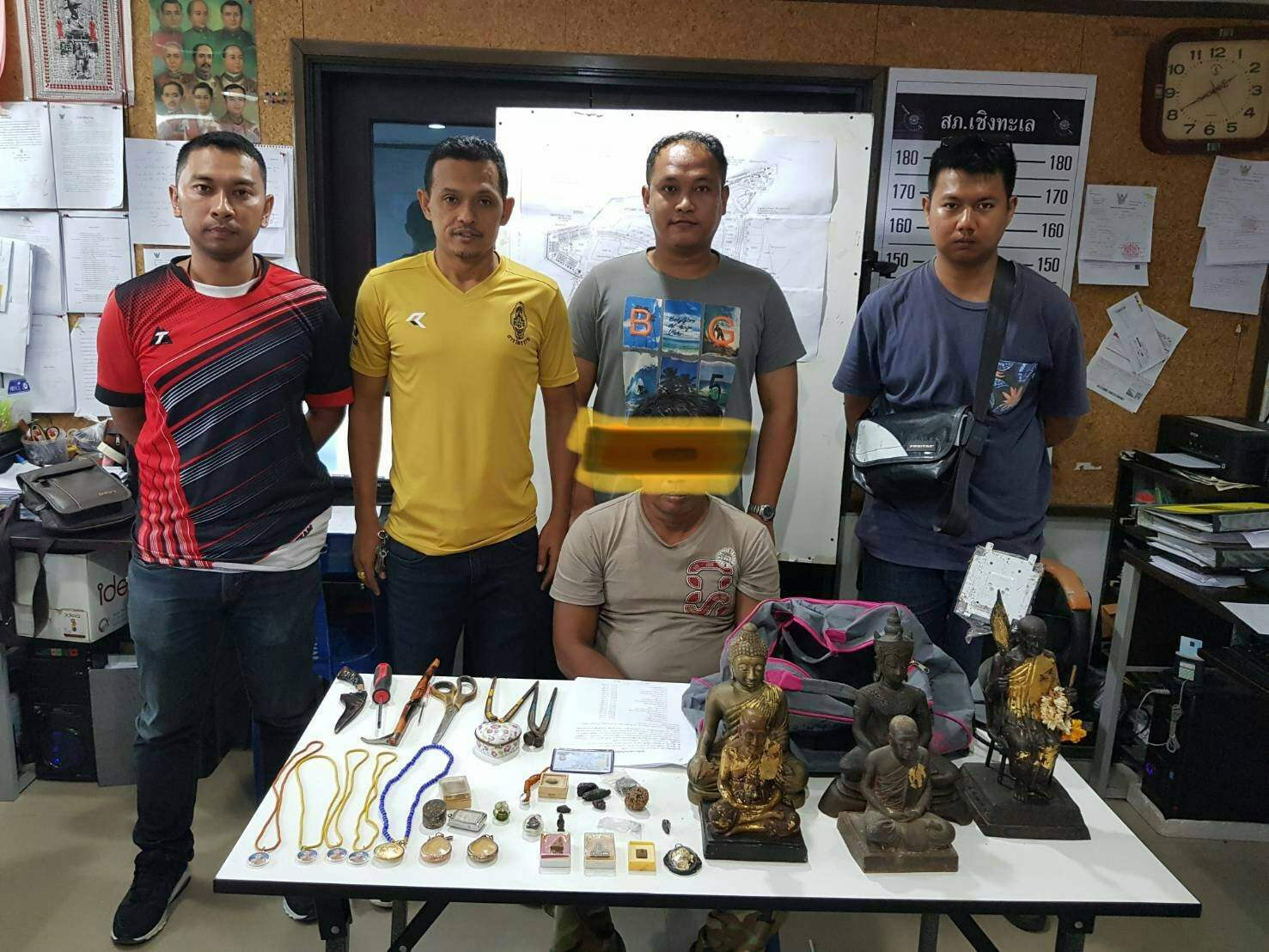 Amulet thief arrested in Cherng Talay | The Thaiger