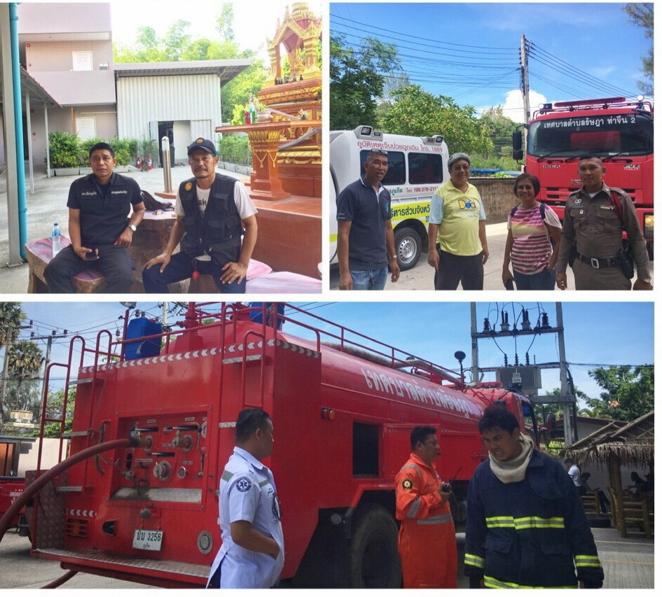 Spa fire in Koh Sirey under investigation   News by Thaiger