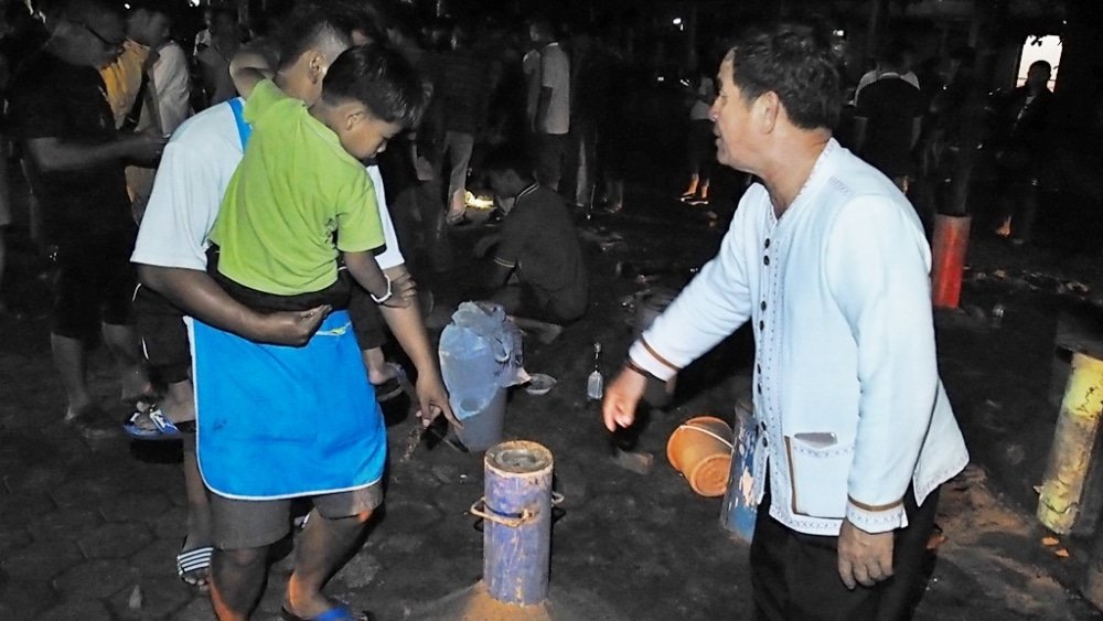 Five injured in Phayao bang fai rocket explosion | The Thaiger