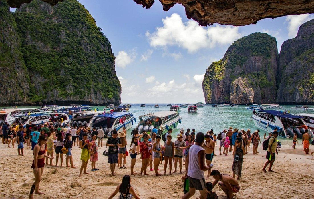 4-month breathing space – DNP officially closes down Maya Bay   Thaiger