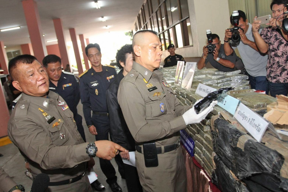 Huge narcotics haul seized from four major drug operations | News by The Thaiger