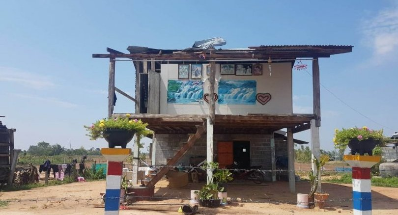 Three houses flattened in Nakhon Ratchasima by storms | The Thaiger