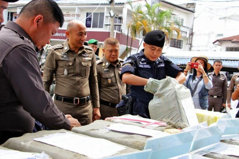 12 million meth pills seized in Chiang Rai   The Thaiger