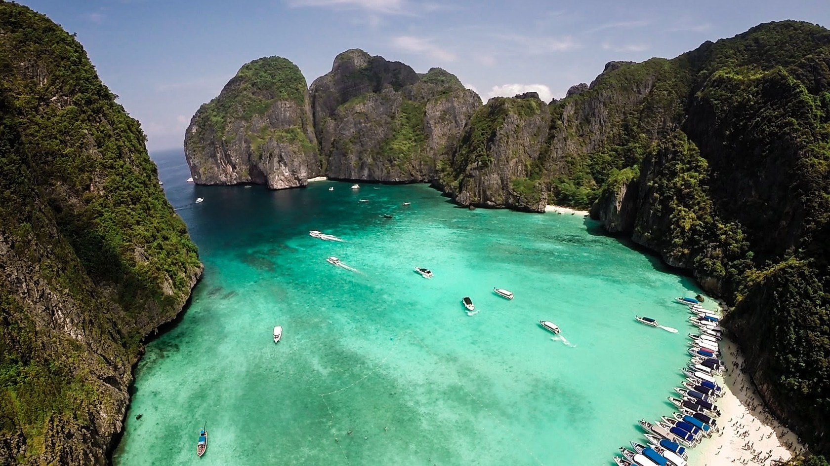 Access to Maya Bay, from the front, permanently closed | The Thaiger