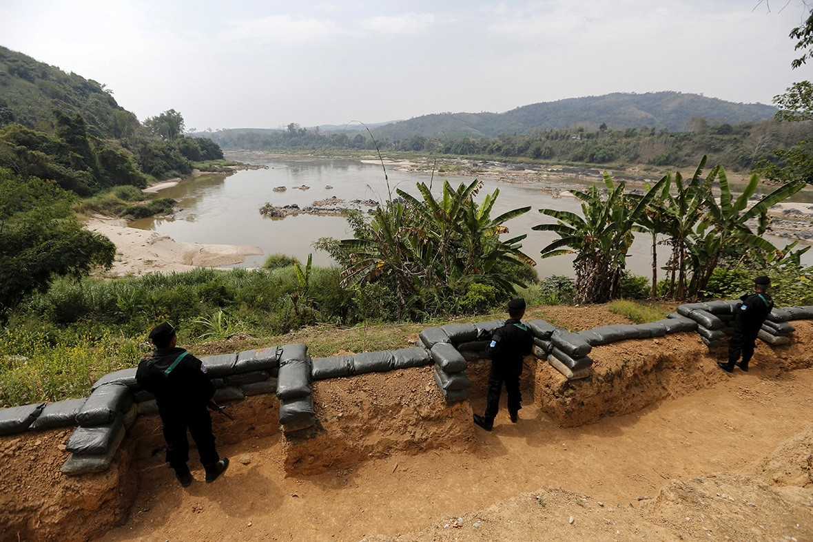 Myanmar holding talks with Mekong countries over deteriorating drug situation | The Thaiger