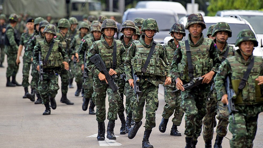 No more beatings, and turn off your cameras – Royal Thai Army | The Thaiger