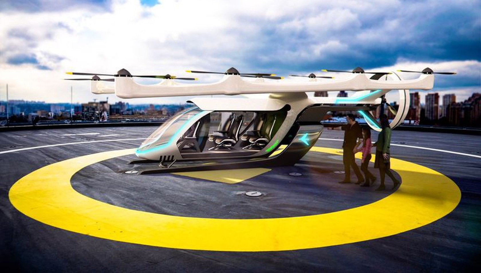 Maybe this idea might get off the ground – Uber takes to the skies | The Thaiger