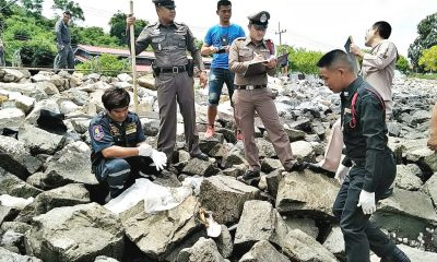 Sattahip: Grisly find on rocks near Navy School | The Thaiger